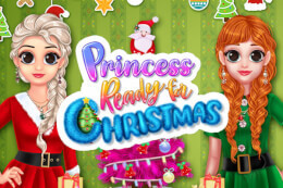 Princess Ready for Christmas thumb